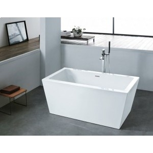 ALFIO - Acrylic Rectangular Freestanding Bathtub